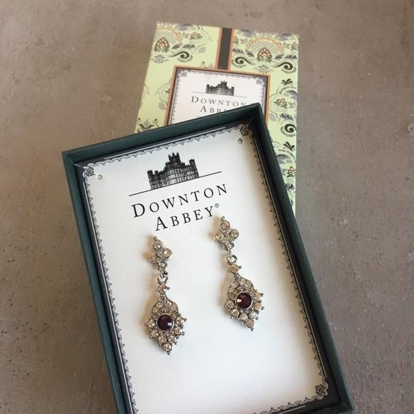 Downton Abbey earrings NWT